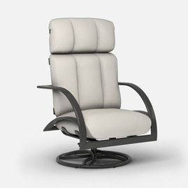 belaire swivel rocker chat chair