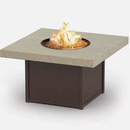42 inch square coffee fire pit